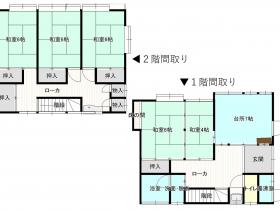 小京都出石の平屋建て住宅