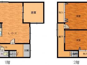 コンパクト住宅(簡易物置有)|豊岡市梶原|一戸建て