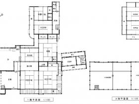 耐震補強などの施工済みの大正時代の建物|豊岡市日高町西芝|一戸建て