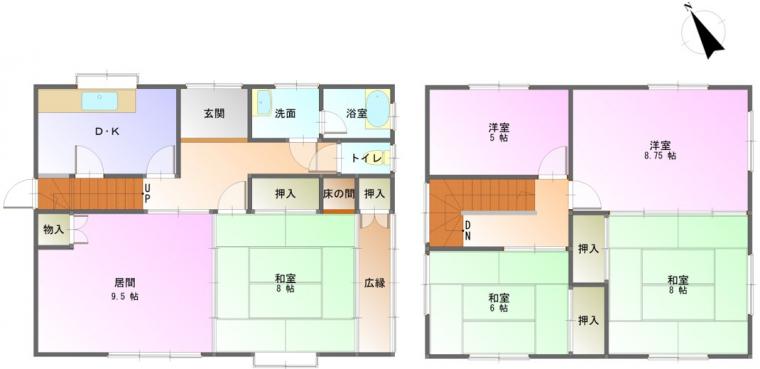 建物1(間取)