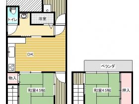 街中に近い生活便利な貸家です【小田井町】