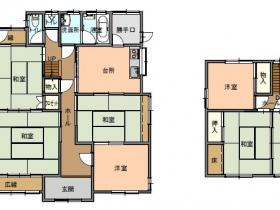 神鍋高原ふもとの静かな環境の住宅です。【日高町野】