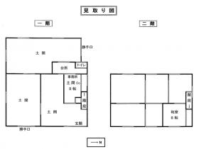 豊岡市気比・アトリエ店舗・住宅にも・家庭菜園も出来ます!